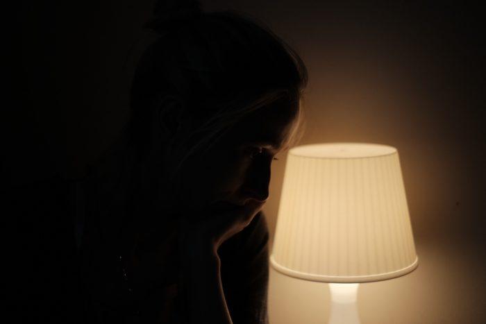 ランプの女